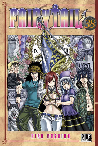 Page 8 Fairy tail tome 38