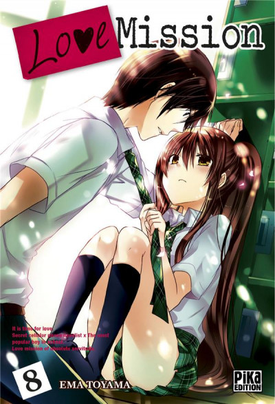 Couverture love mission tome 8