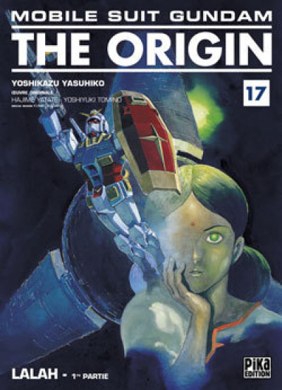 Couverture mobile suit gundam - the origin tome 17