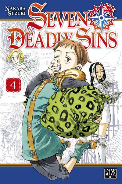 Couverture seven deadly sins tome 4