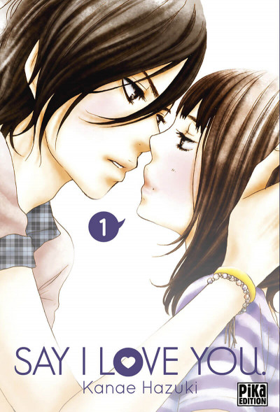 Couverture Say I love you tome 1