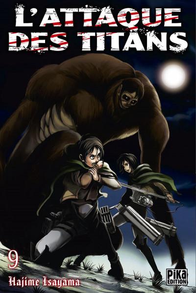 Couverture L'attaque des titans tome 9