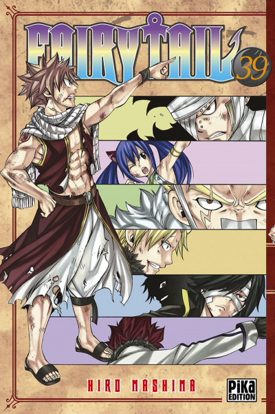 Couverture Fairy tail tome 39