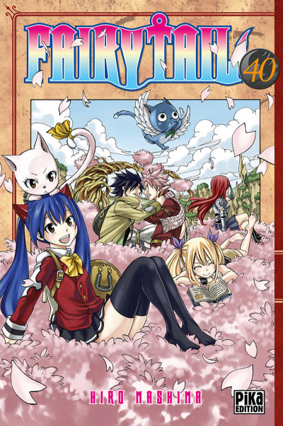 Couverture Fairy tail tome 40