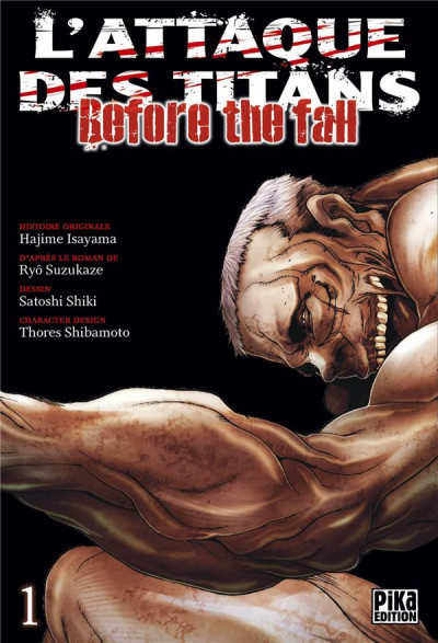 Couverture L'attaque des titans - before the fall tome 1