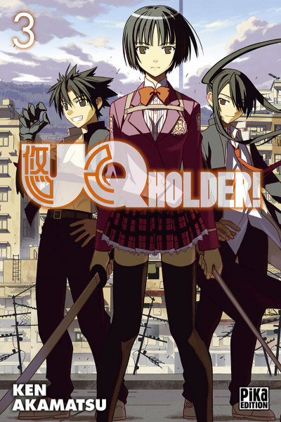 Couverture Uq holder! tome 3