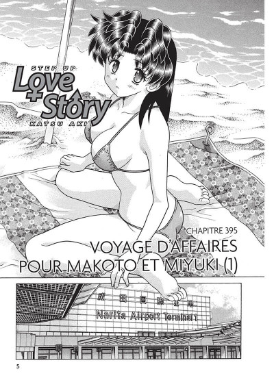 Page 4 step up love story tome 42