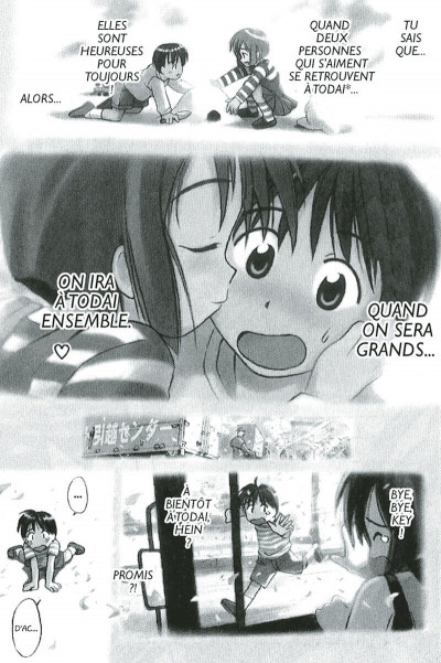 Page 8 Love Hina Tome 1