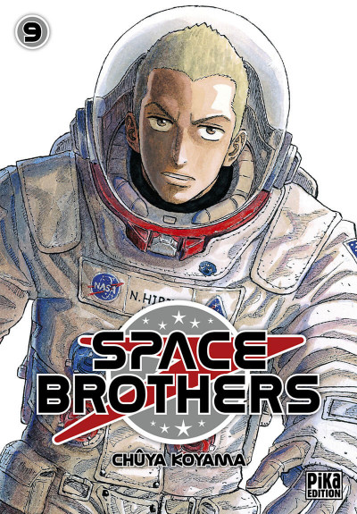 Couverture space brothers tome 9
