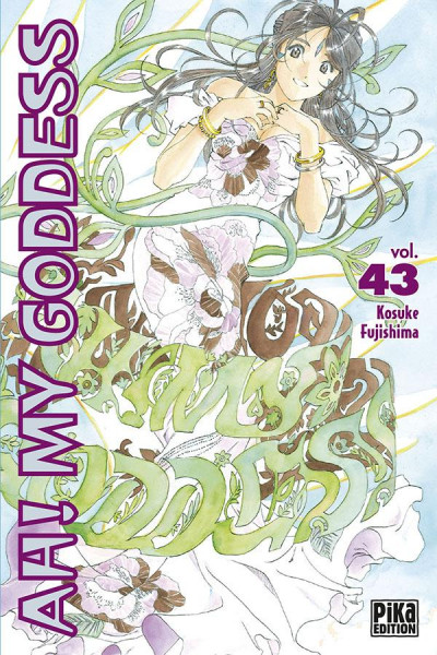Couverture Ah! My Goddess tome 43