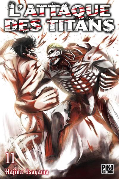 Couverture L'attaque des titans tome 11