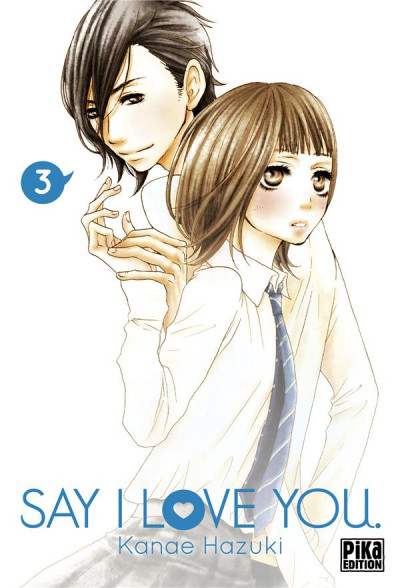 Couverture Say I love you tome 3