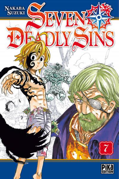 Couverture seven deadly sins tome 7