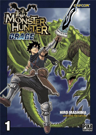 Couverture Monster hunter orage tome 1 (édition 2015)