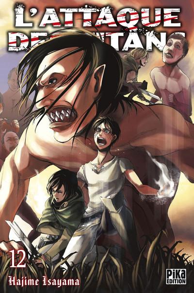 Couverture L'attaque des titans tome 12