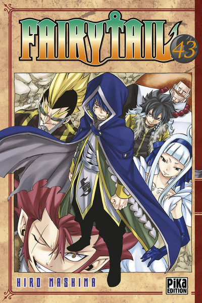 Couverture Fairy tail tome 43