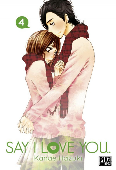 Couverture Say I love you tome 4
