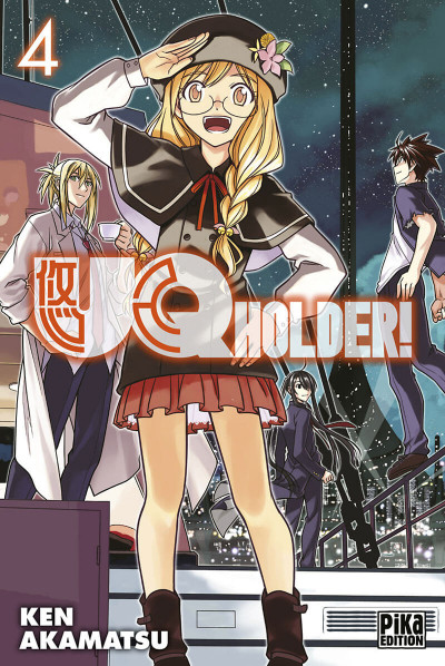Couverture Uq holder! tome 4