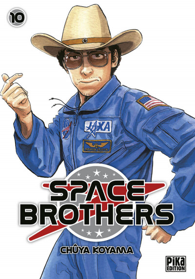 Couverture Space brothers tome 10