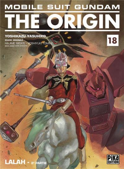 Couverture Mobile suit gundam - the origin tome 18