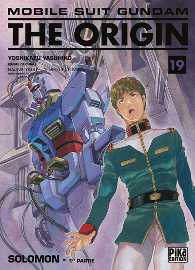 Couverture Mobile suit gundam - the origin tome 19