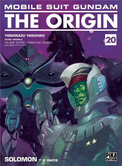 Couverture Mobile suit gundam - the origin tome 20