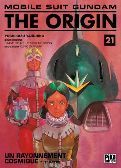 Couverture Mobile suit Gundam - The origin tome 21