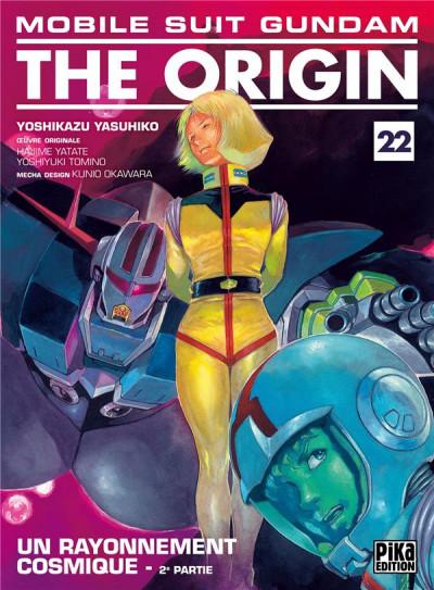 Couverture Mobile suit gundam - The origin tome 22
