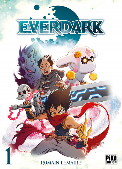 Couverture Everdark tome 1