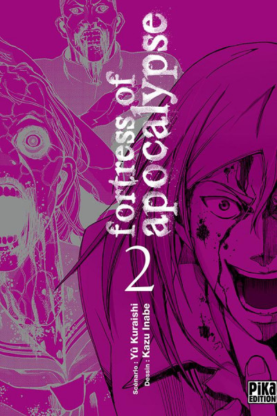 Couverture Fortress of Apocalypse tome 2