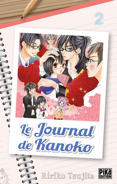 Couverture Le journal de Kanoko tome 2