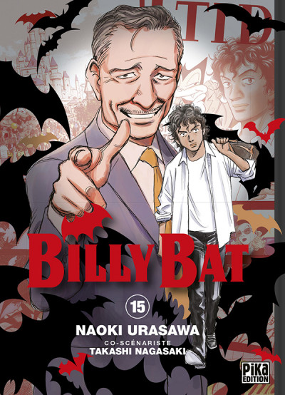 Couverture Billy Bat tome 15