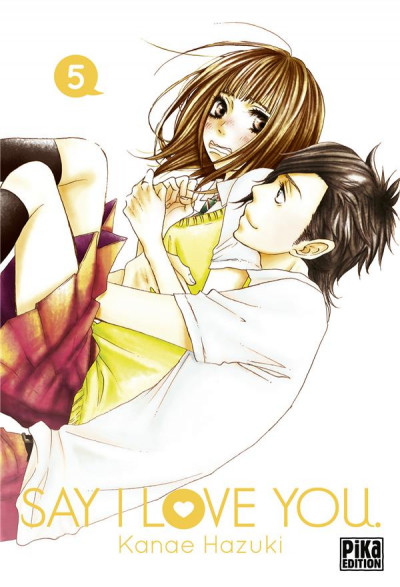 Couverture Say I love you tome 5