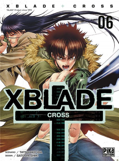 Couverture Xblade Cross tome 6