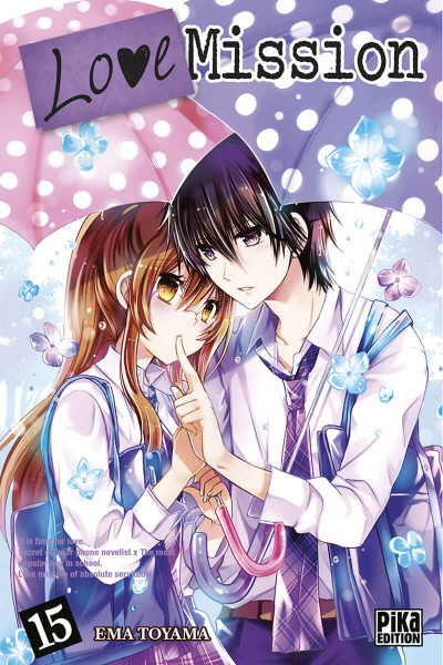 Couverture Love Mission tome 15