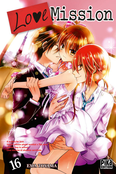 Couverture Love Mission tome 16