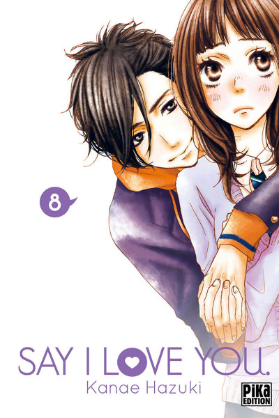 Couverture Say I love you tome 8