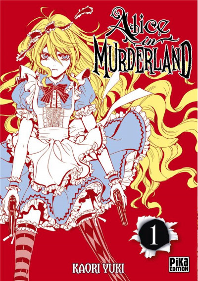 Couverture Alice in murderland tome 1