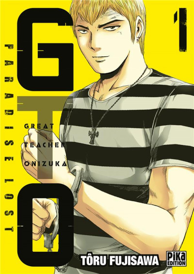 Couverture GTO paradise lost tome 1