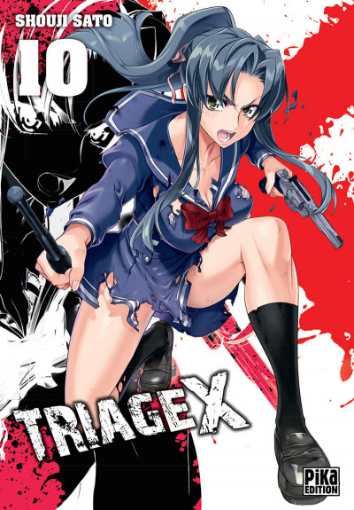 Couverture Triage X tome 10