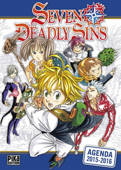 Couverture Seven Deadly Sins - Agenda 2015/2016