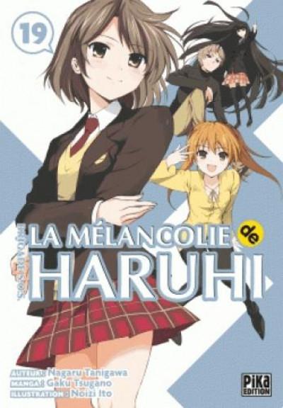 Couverture La mélancolie de Haruhi tome 19