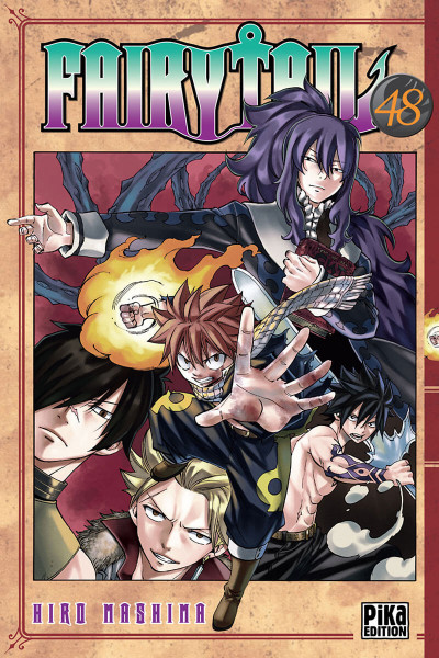 Couverture Fairy tail tome 48