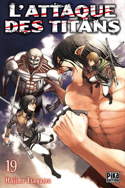 Couverture L'attaque des titans tome 19