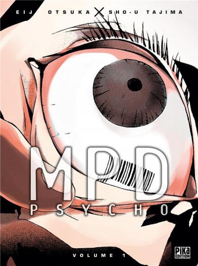 Couverture MPD psycho - couleur tome 1