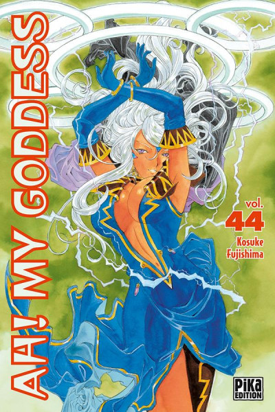 Couverture Ah! my goddess tome 44