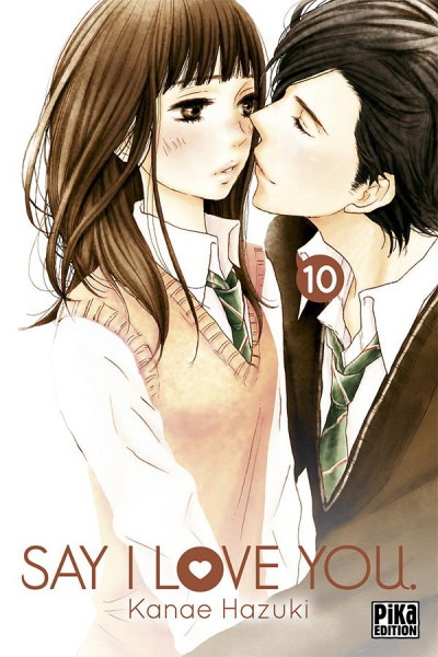 Couverture Say I love you tome 10