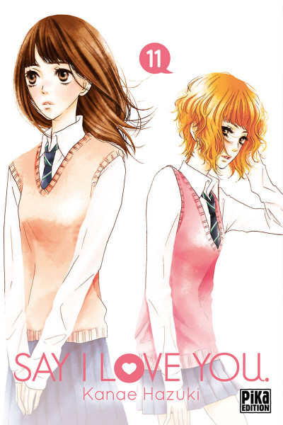 Couverture Say I love you tome 11