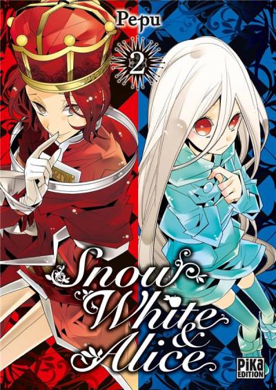 Couverture Snow white & Alice tome 2