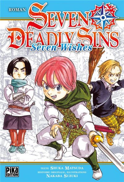 Couverture Seven deadly sins - seven wishes